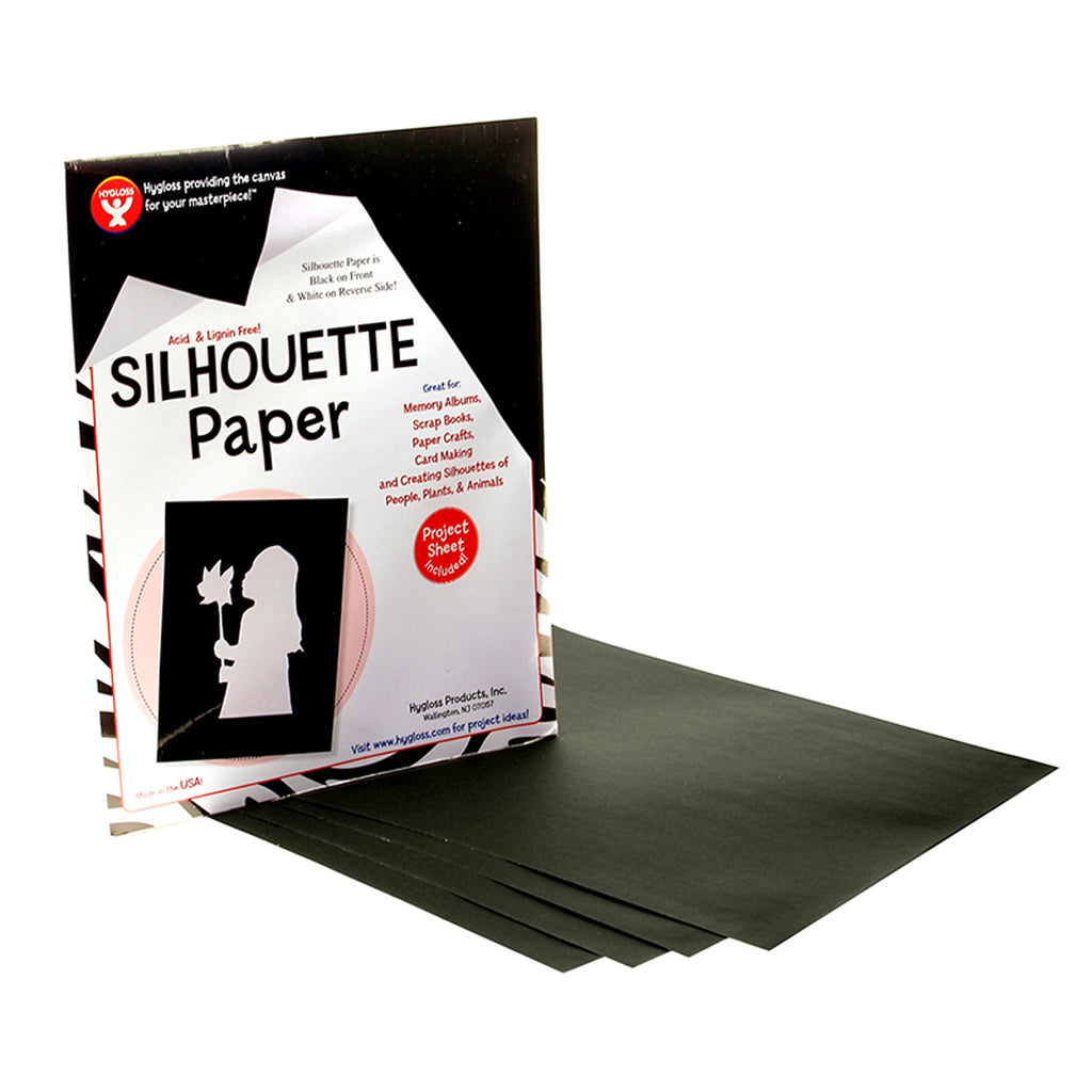 Hygloss Products Silhouette Paper