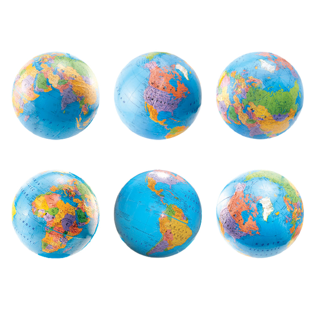 "Hygloss Products 6"" Globe Accents"