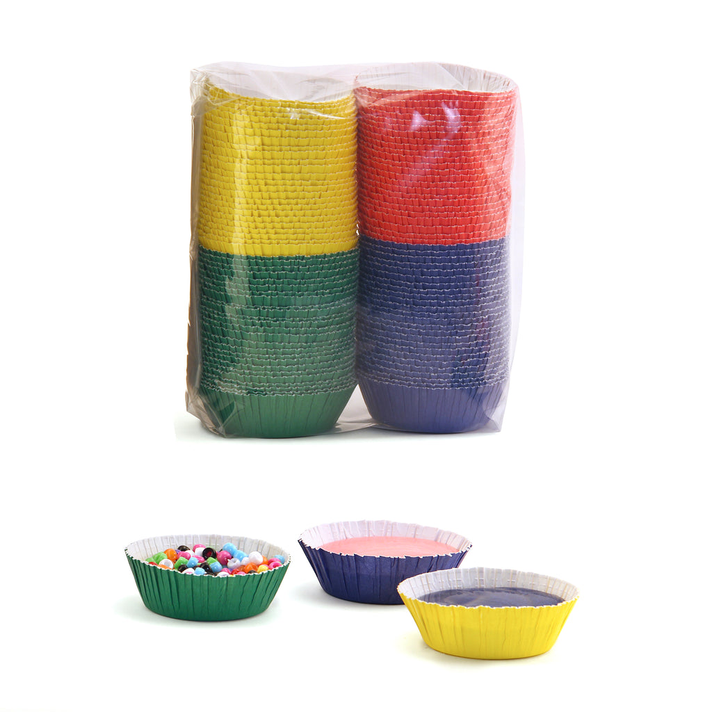 Hygloss Products Assorted Color Craft Cups, 100 Pack