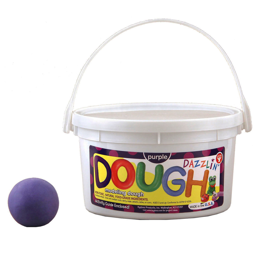 Hygloss Products Dazzlin' Dough - Purple, 3 lbs.
