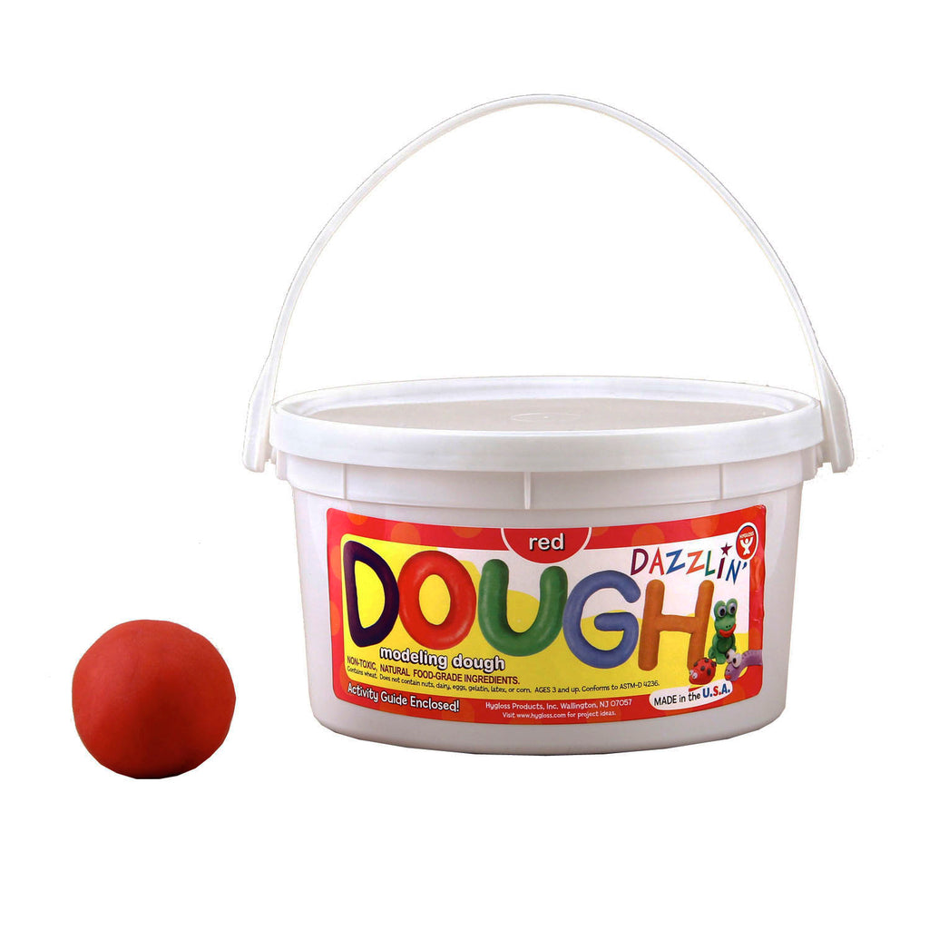 Hygloss Products Scented Dazzlin' Dough - Red, 3 lbs.