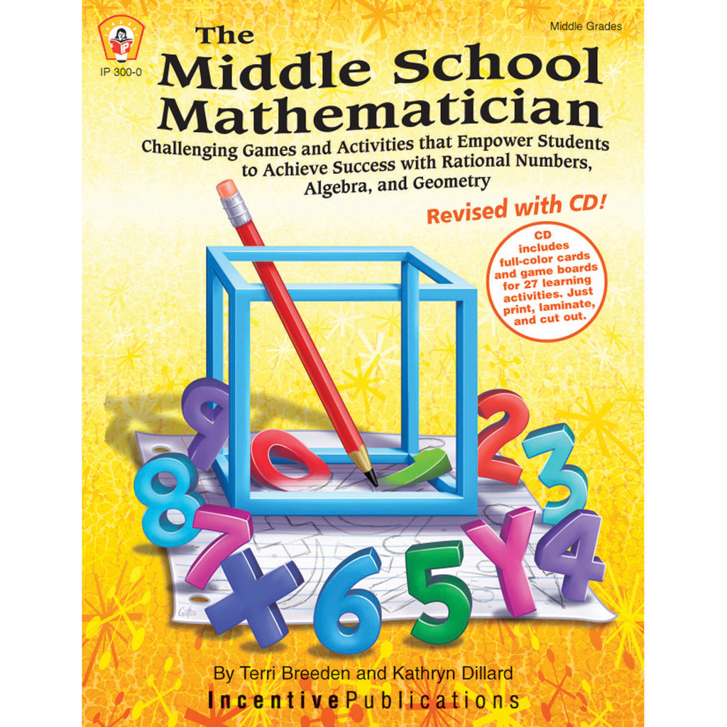 Independent Publishers Group The Middle School Mathematician, Revised with CD