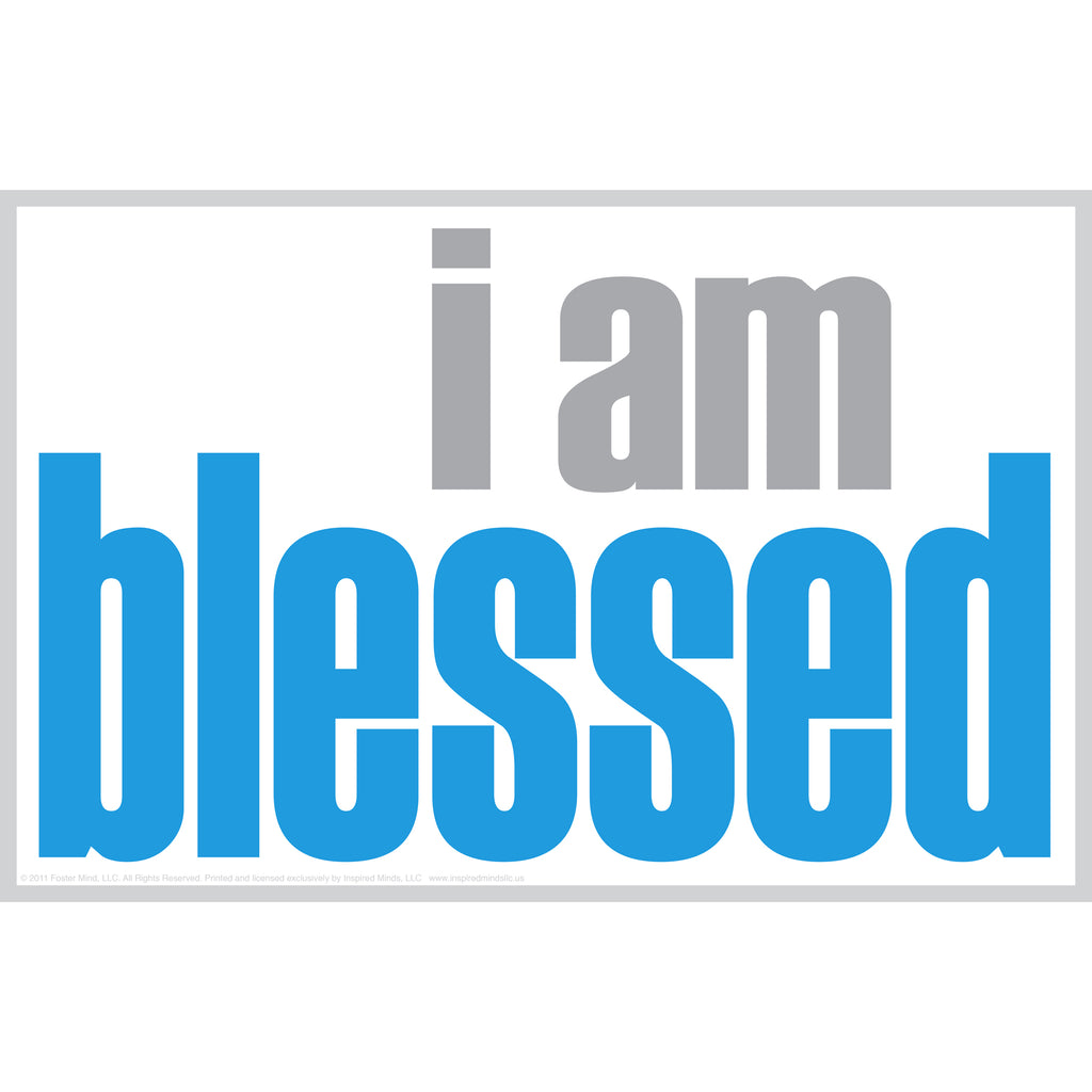 "Inspired Minds ""I Am Blessed"" Notes, 20 Pack"