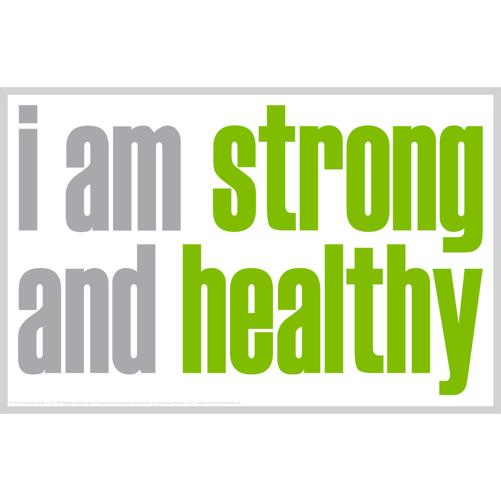 "Inspired Minds ""I Am Strong"" Magnet"