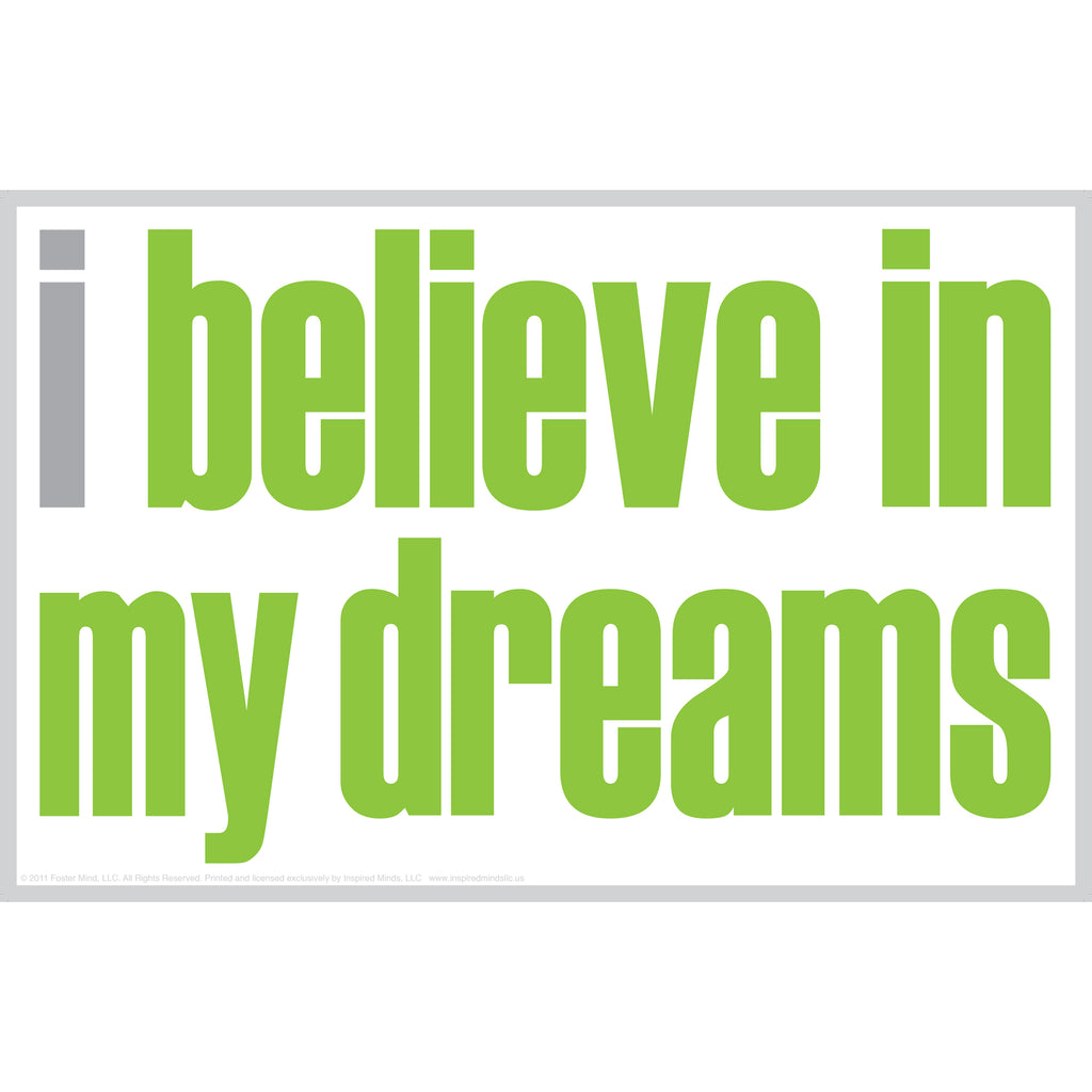 "Inspired Minds ""I Believe in My Dreams"" Notes, 20 Pack"