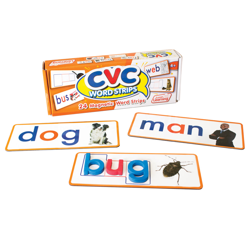 Junior Learning CVC Word Strips