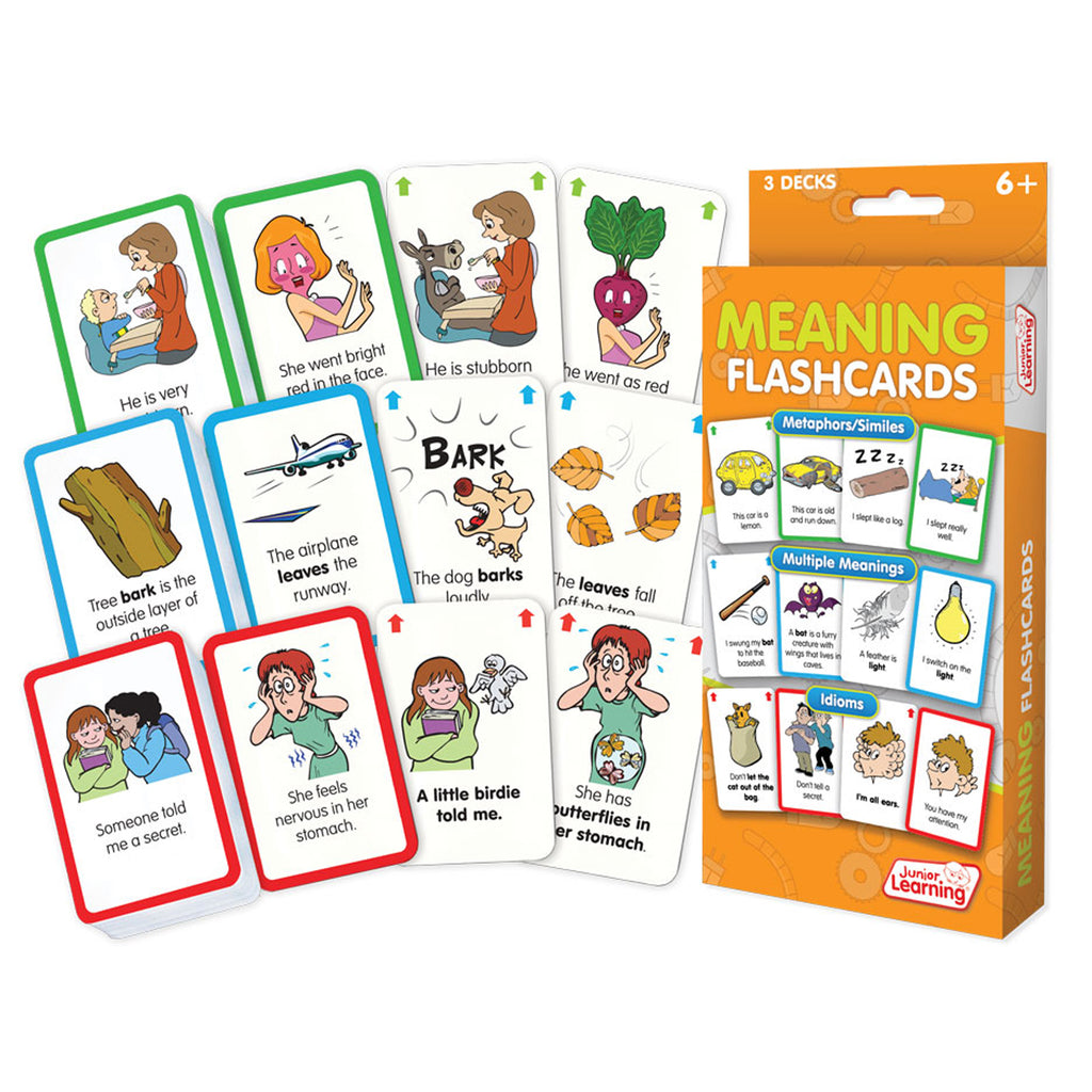 Junior Learning Meaning Flashcards