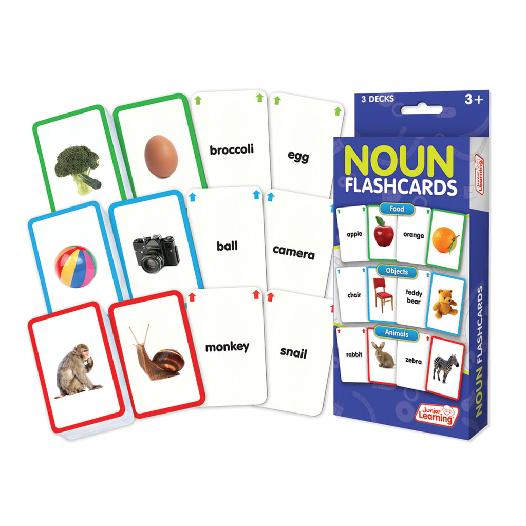 Junior Learning Nouns Flashcards