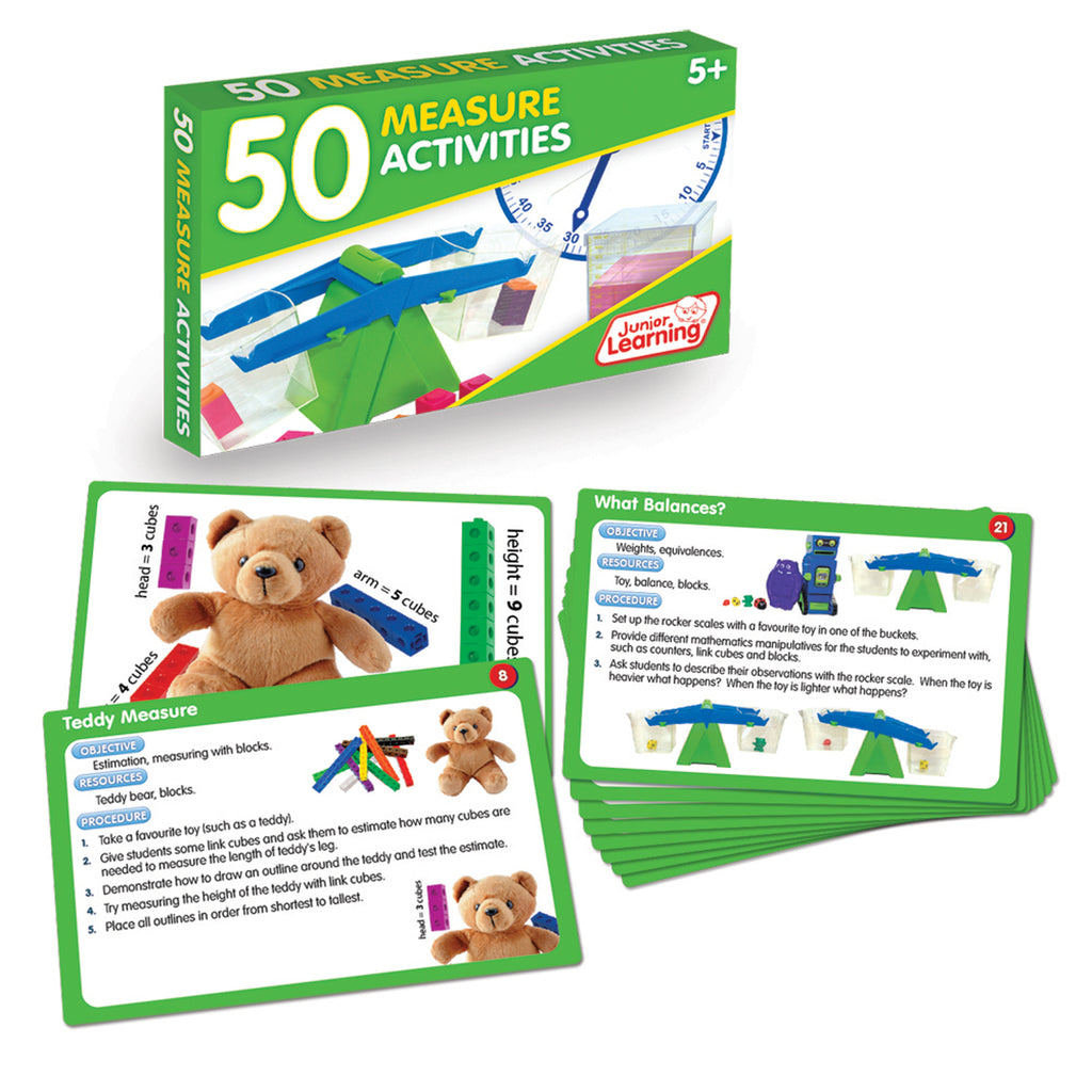 Junior Learning 50 Measure Activities