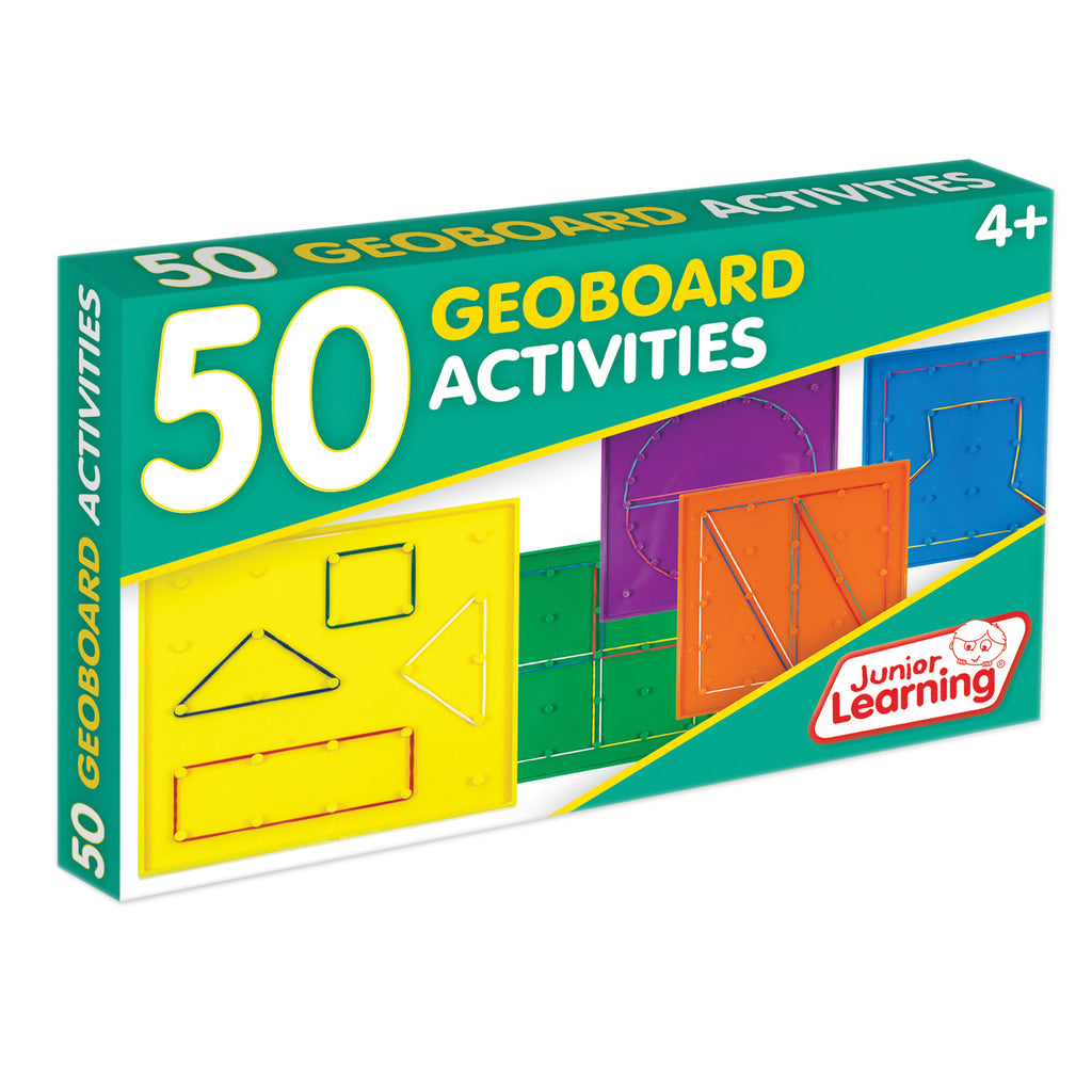 Junior Learning 50 Geoboard Activities