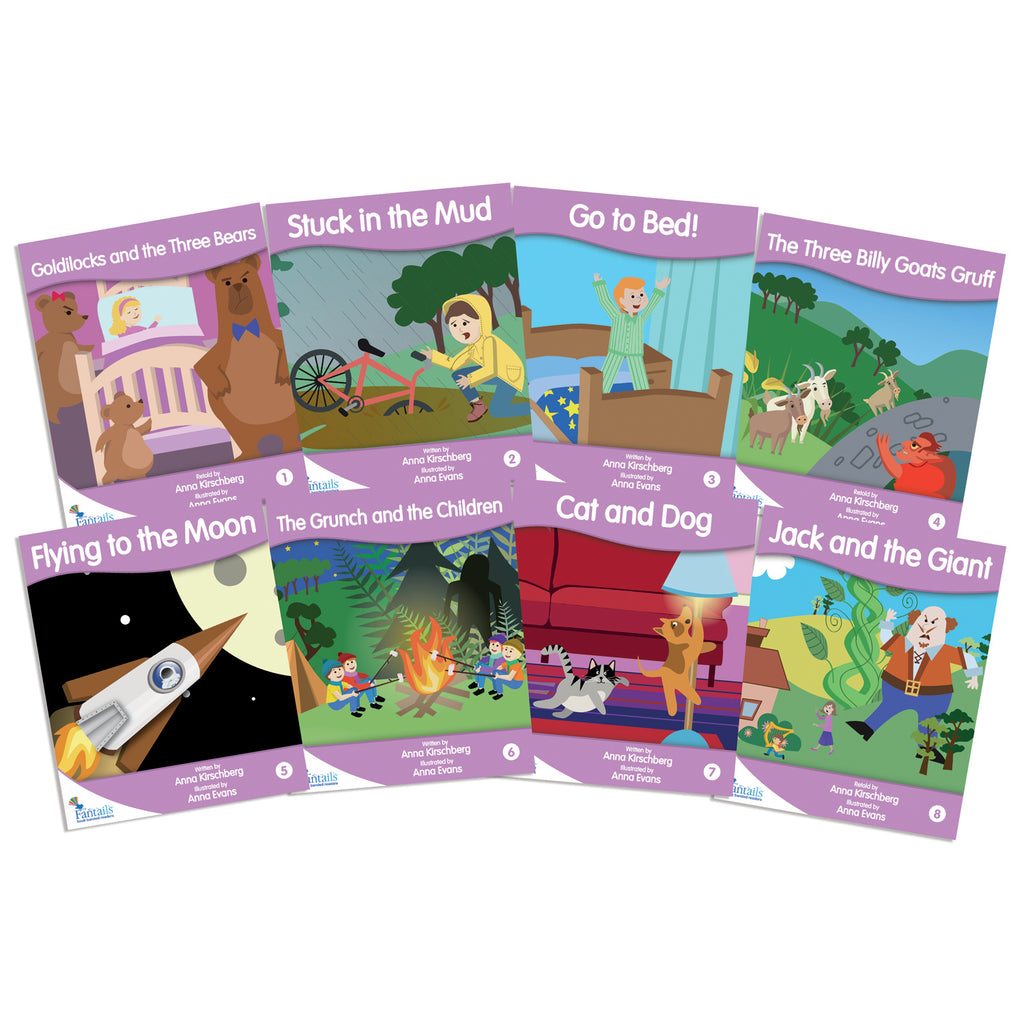 Junior Learning Fantail Books: Lilac Fiction Banded Readers, Level A