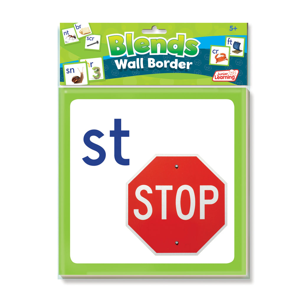 Junior Learning Wall Border: Blends