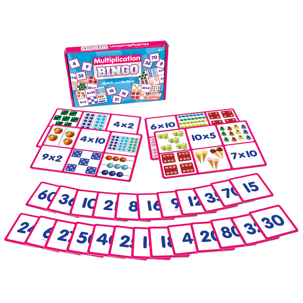 Junior Learning Multiplication Bingo