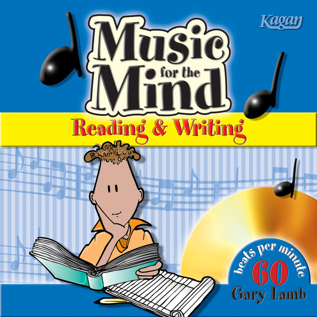 Kagan Publishing Music For The Mind™ CD - Reading & Writing