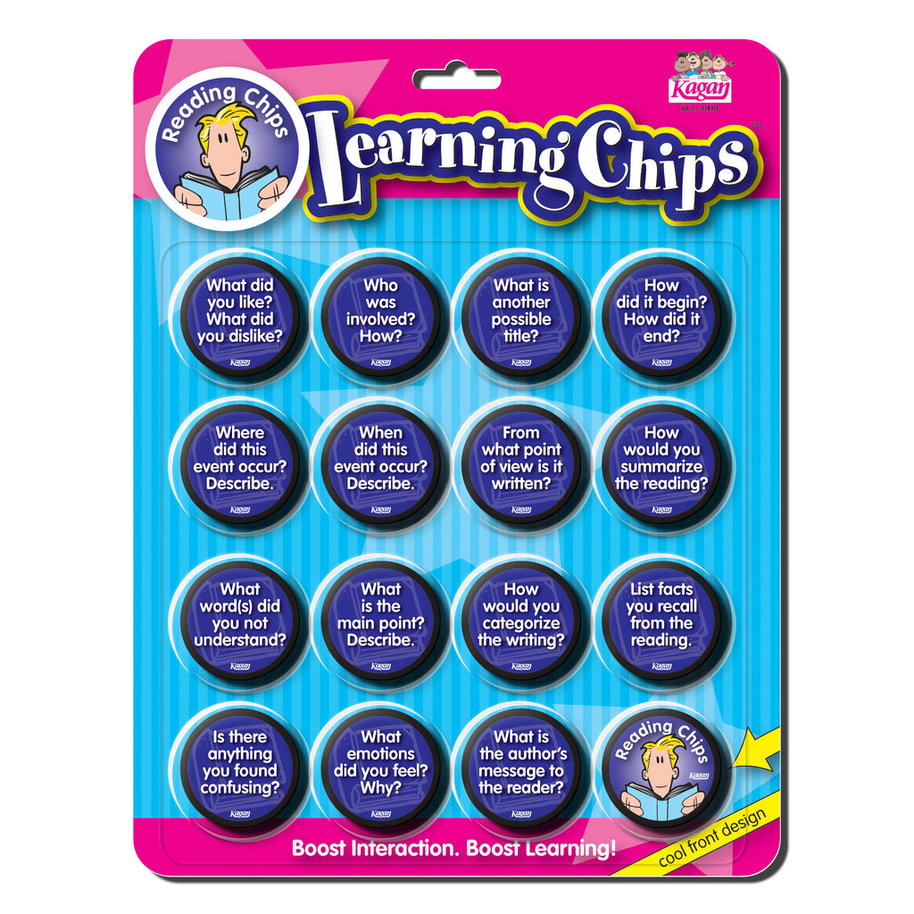 Kagan Publishing Reading Comprehension Chips