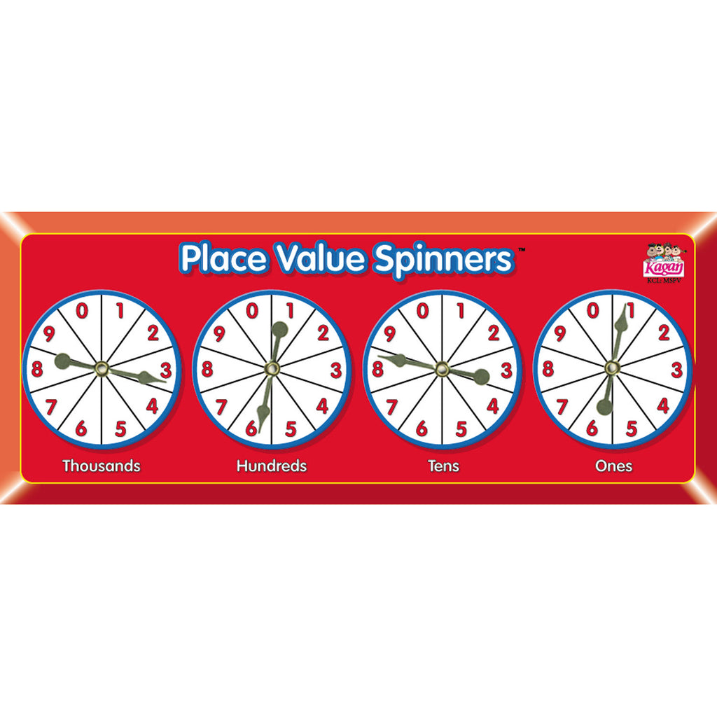 Kagan Publishing Place Value Spinners