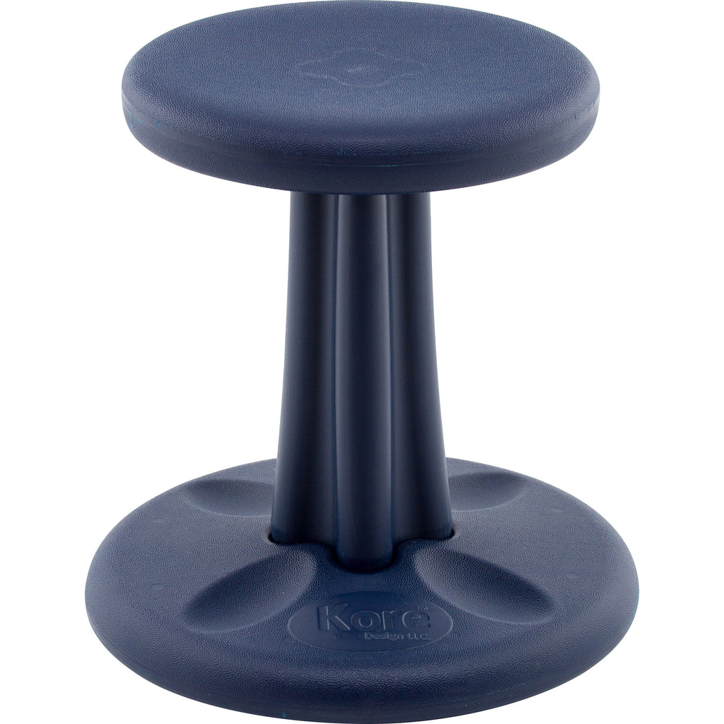 "Kore Design Kids Kore WOBBLE™ Chair, 14"" Dark Blue"