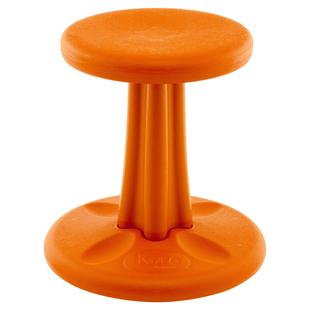 "Kore Design Kore™ Kids Wobble Chair, 14"" Orange"