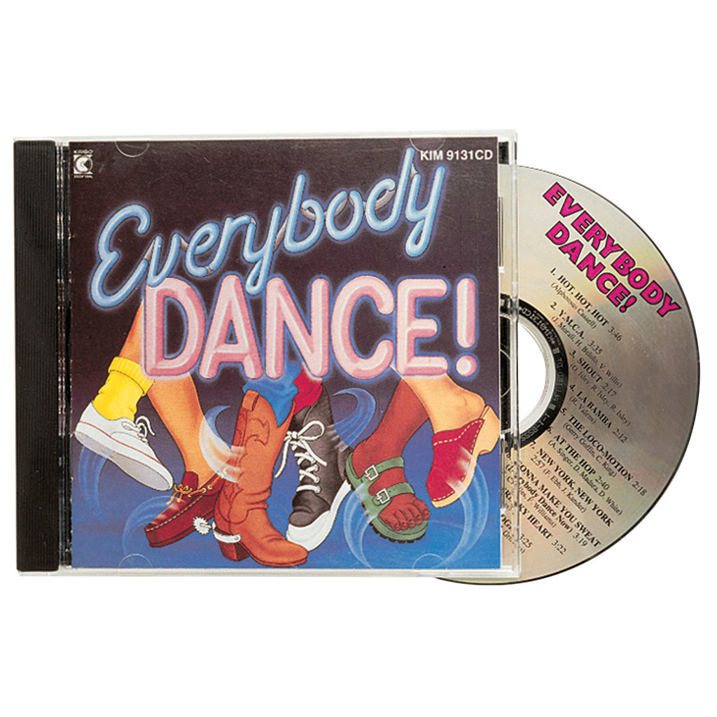 Kimbo Educational Everybody Dance CD
