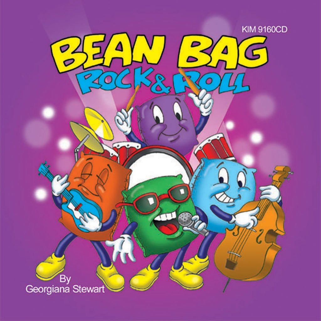 Kimbo Educational Bean Bag Rock & Roll CD