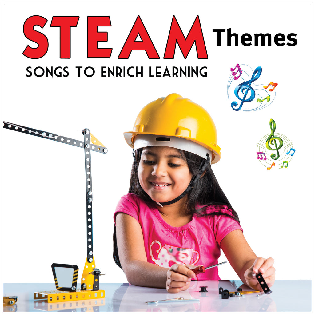 Kimbo Educational STEAM Themes CD