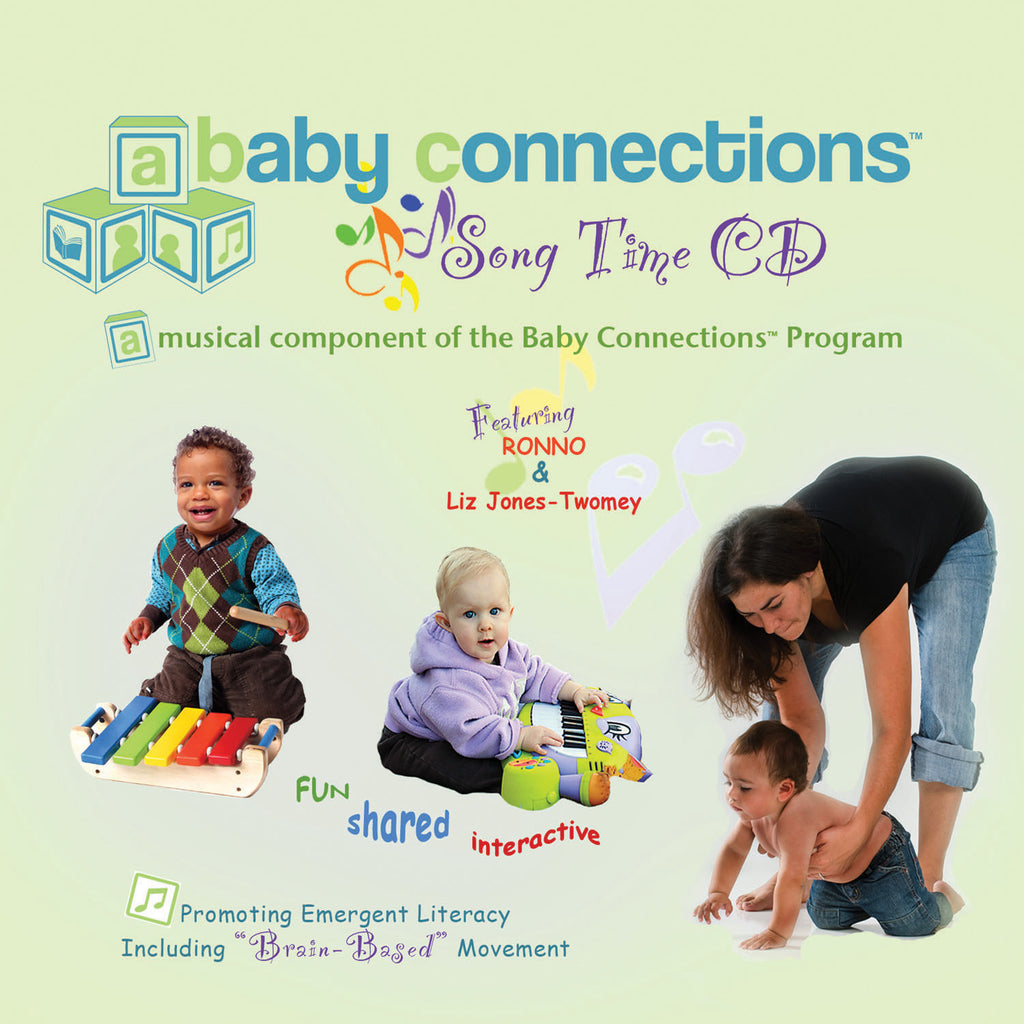 Kimbo Educational Baby Connections Song Time CD