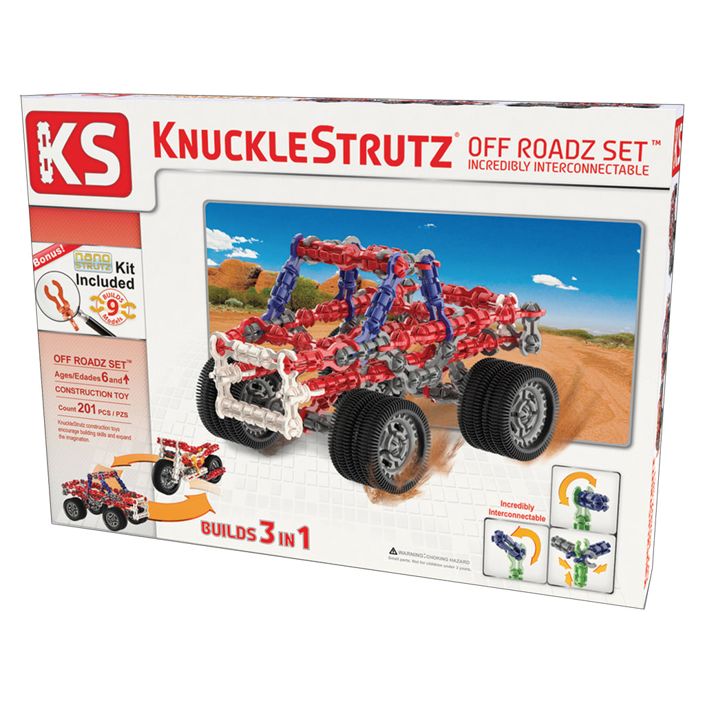 Incredibly Interconnectable Toy KnuckleStrutz: Off Roadz Set