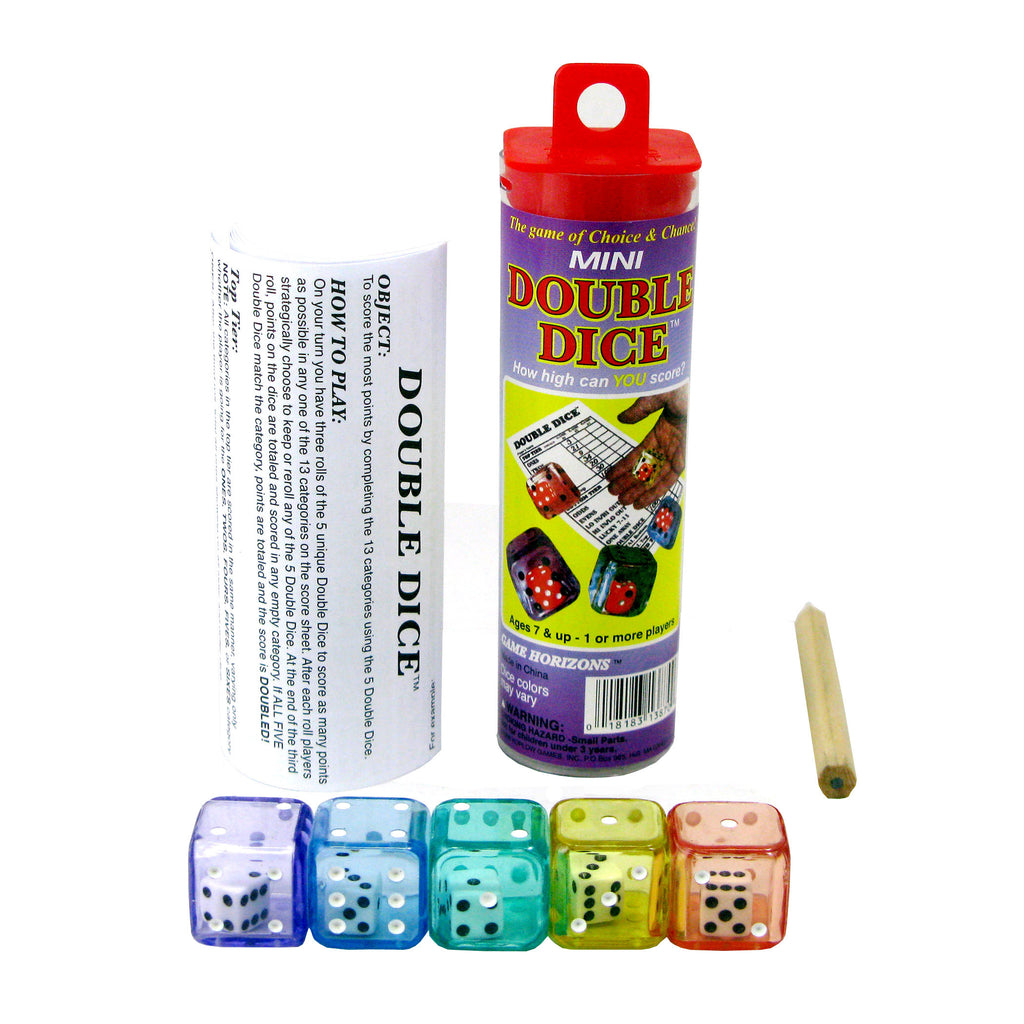 Koplow Games Double Dice, Single Game