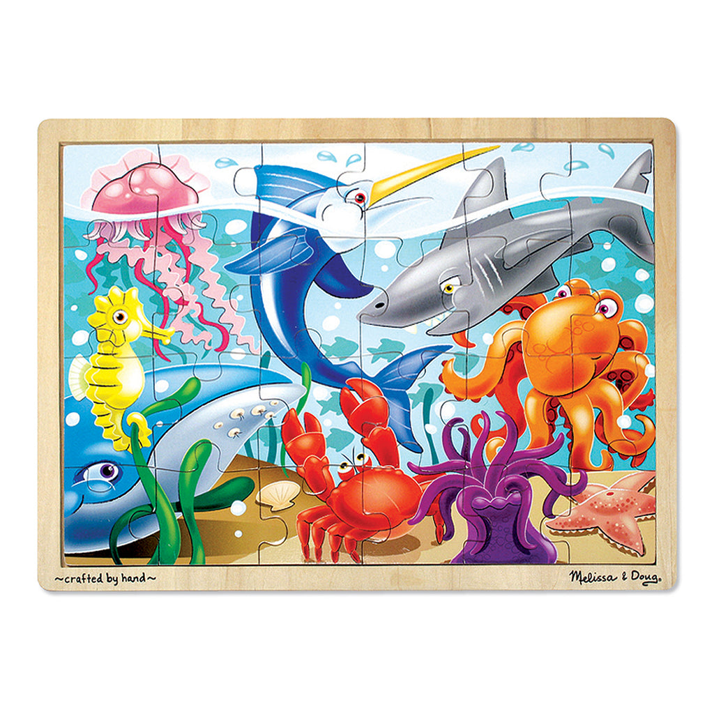 Melissa & Doug Under the Sea Wooden Jigsaw Puzzle