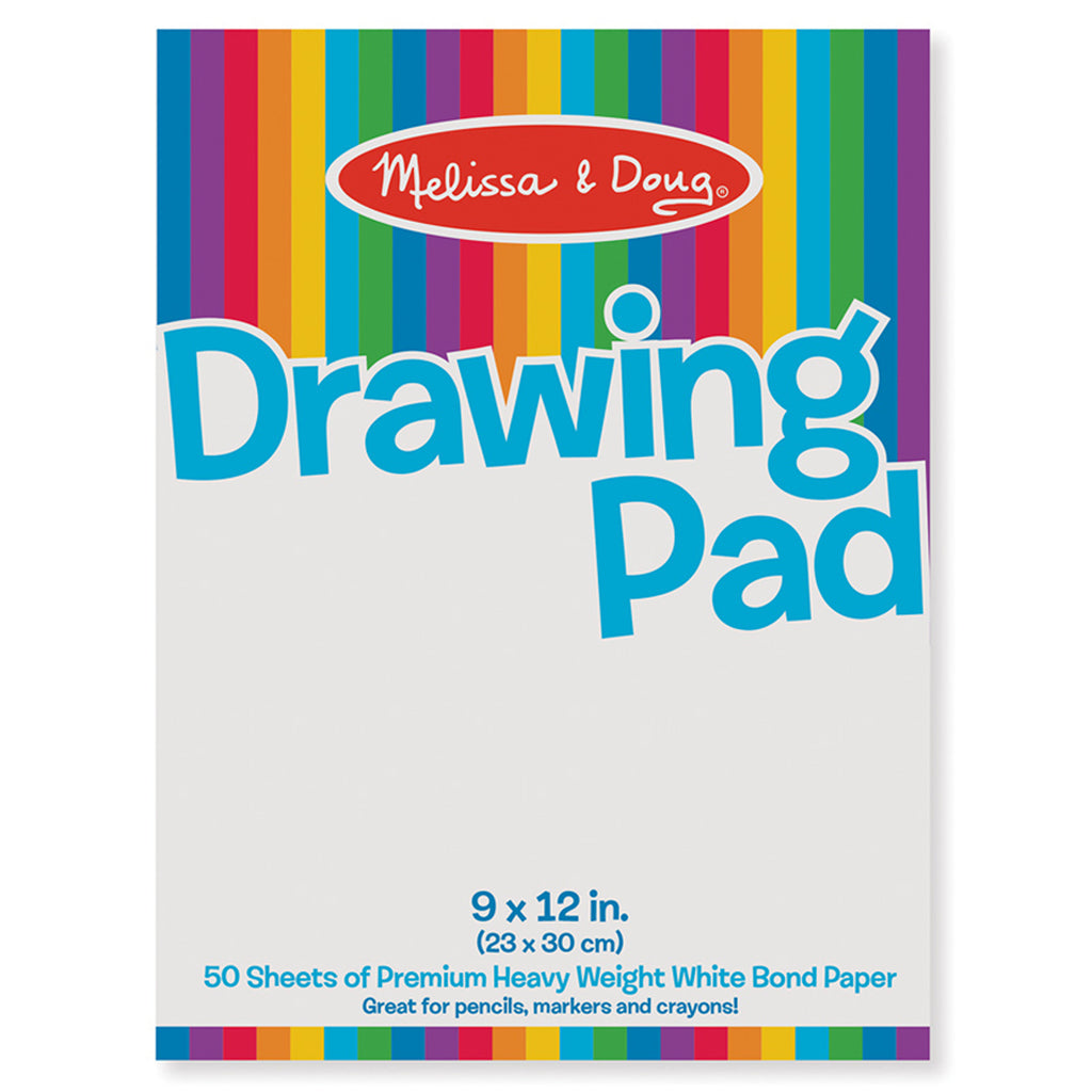 Melissa & Doug Drawing Pad 9 x 12