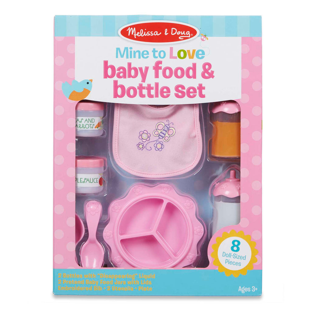 Melissa & Doug Time To Eat! Feeding Set