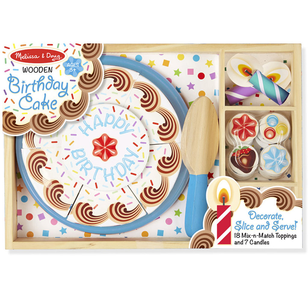 Melissa & Doug Birthday Party, Wooden Play Food