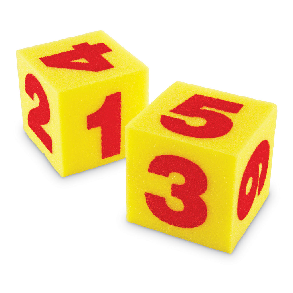 Learning Resources Giant Soft Numeral Cubes