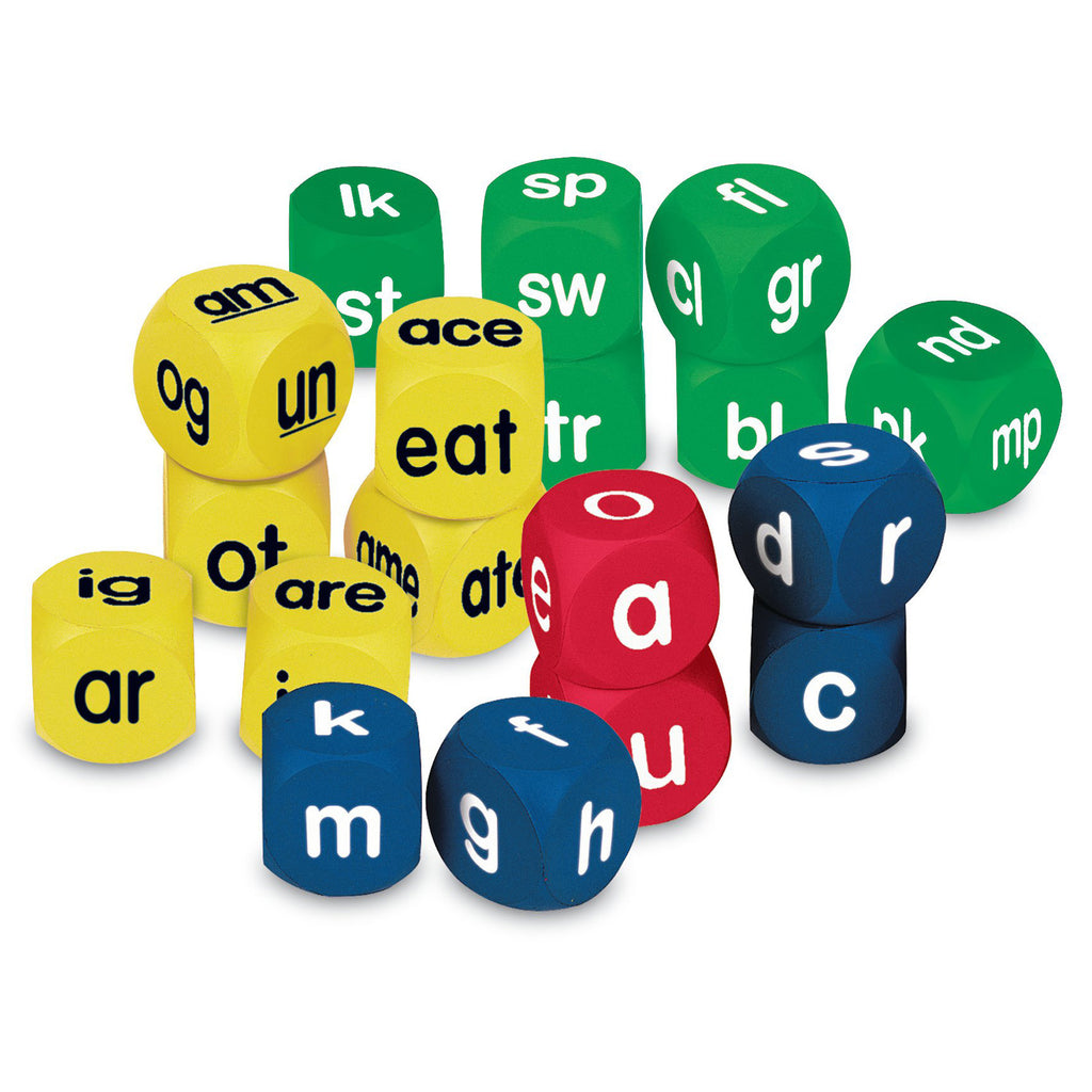 Learning Resources Soft Foam Phonics Cube Set
