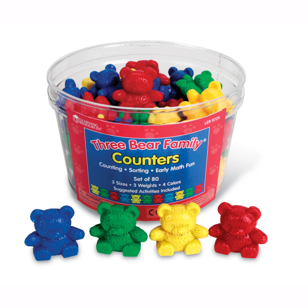 Learning Resources Three Bear Family® Counters