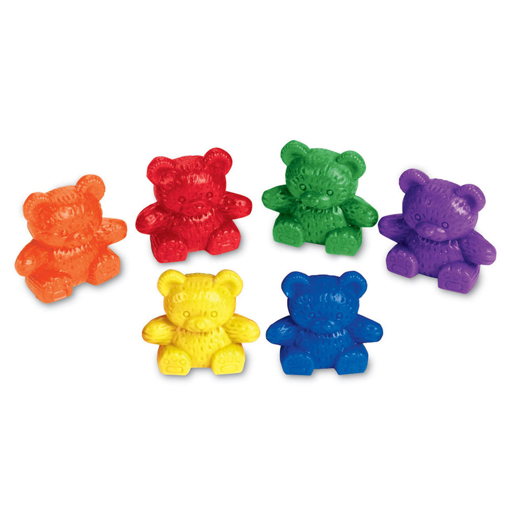 Learning Resources Baby Bear™ Counters, 6 Colors, Set of 102