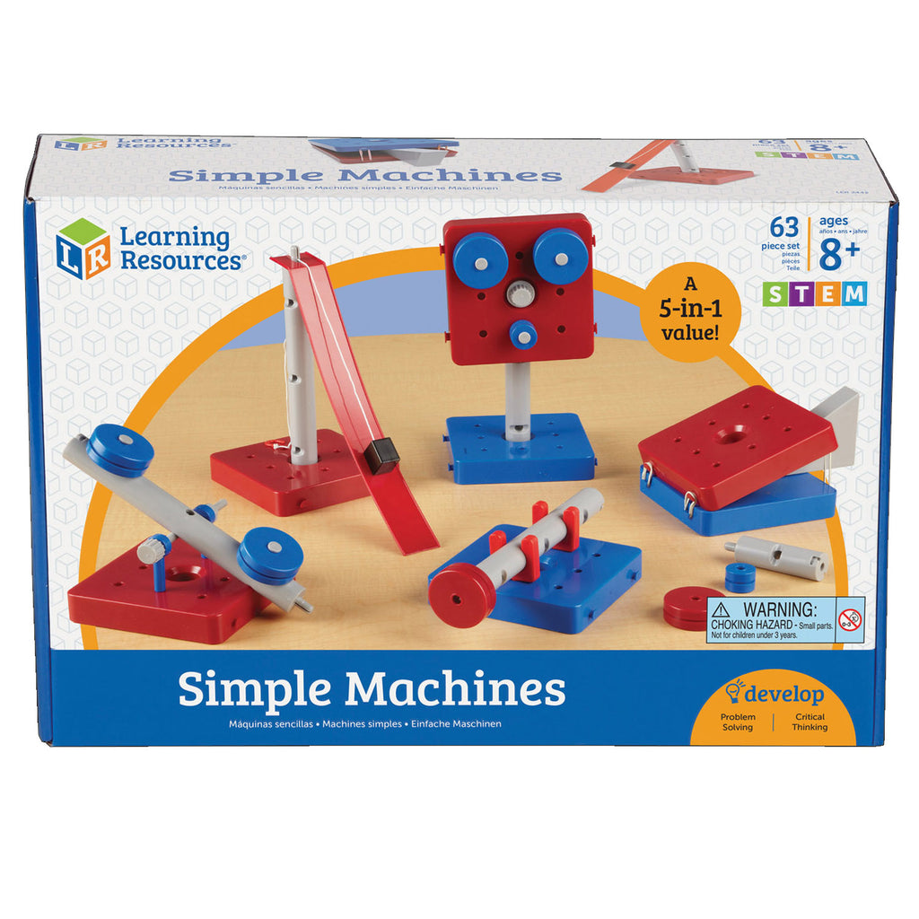 Learning Resources Simple Machines Set