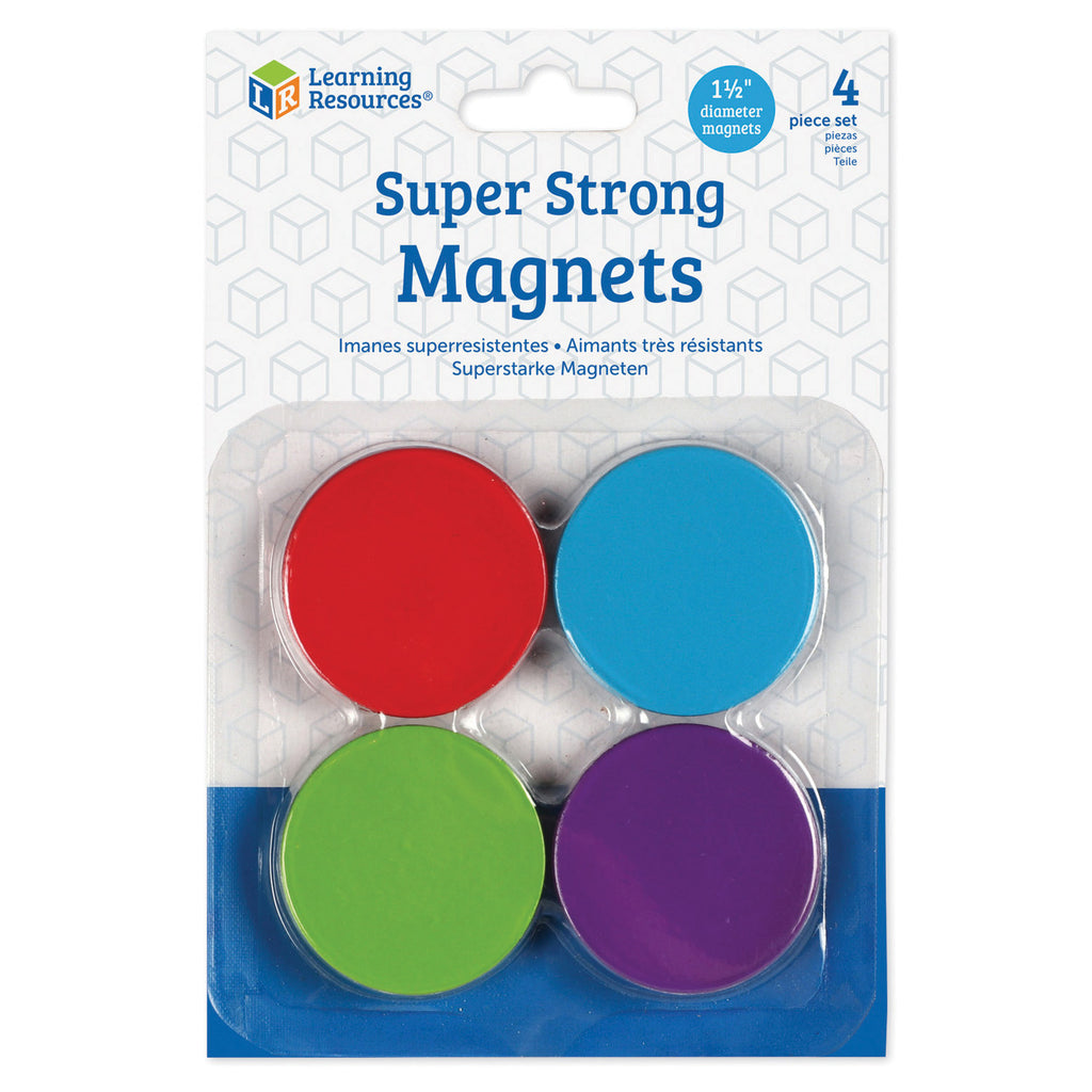 Learning Resources Super Strong Magnets