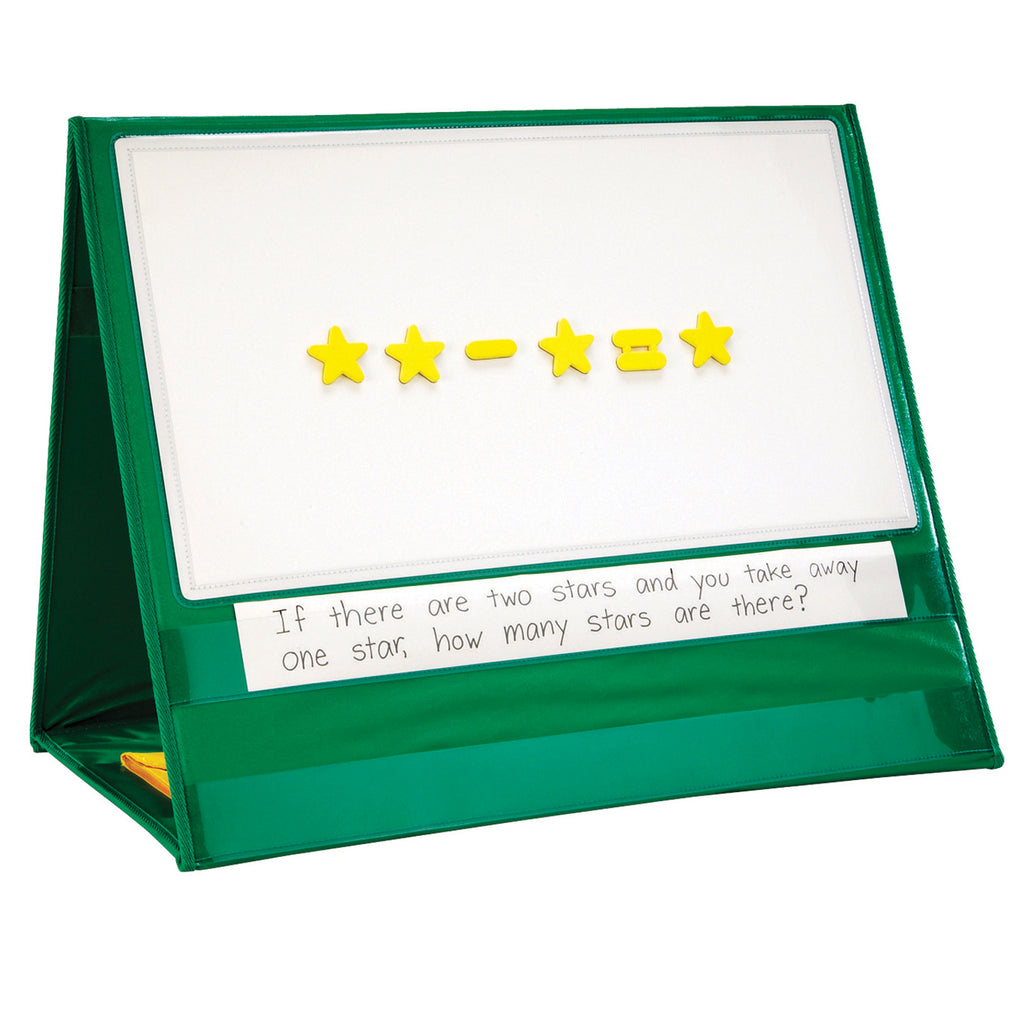 Learning Resources Write & Wipe Magnetic Demonstration Tabletop Pocket Chart