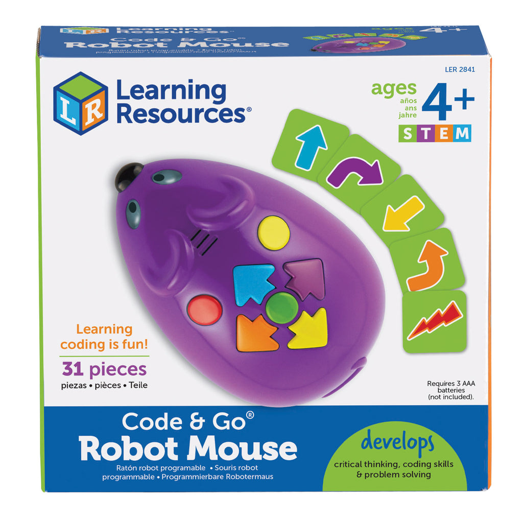 Learning Resources Code & Go™ Programmable Robot Mouse