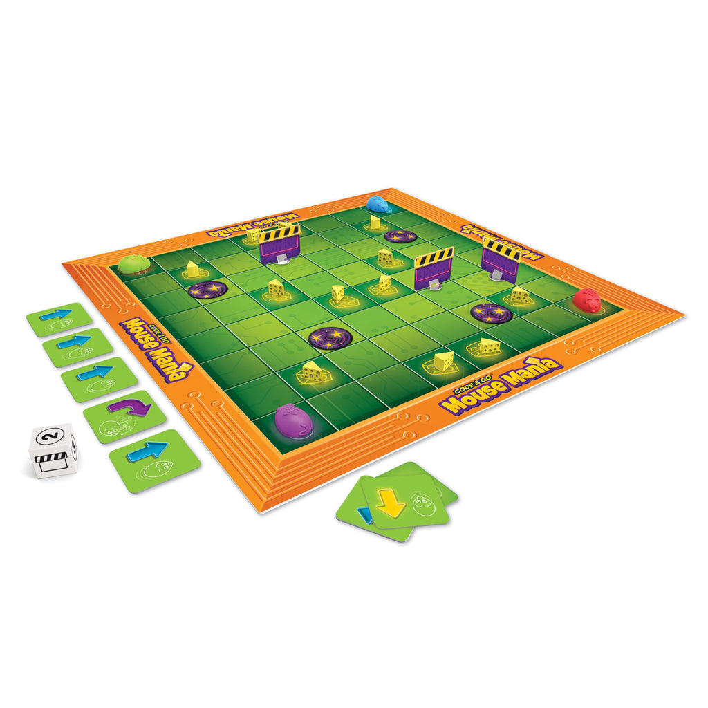 Learning Resources Code & Go™ Mouse Mania Board Game