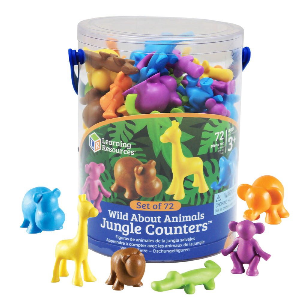Learning Resources Wild About Animals Jungle Counters™