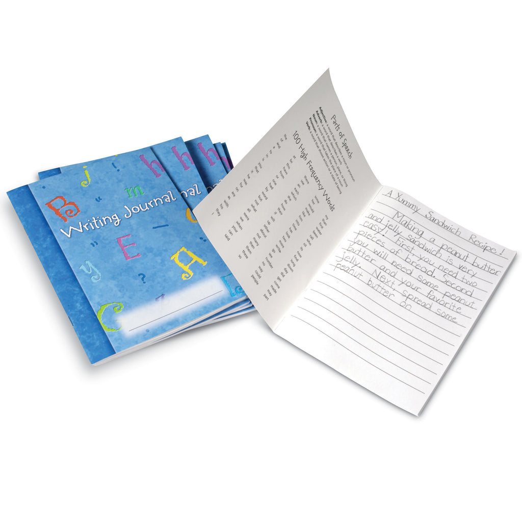 Learning Resources Writing Journal, Set of 10