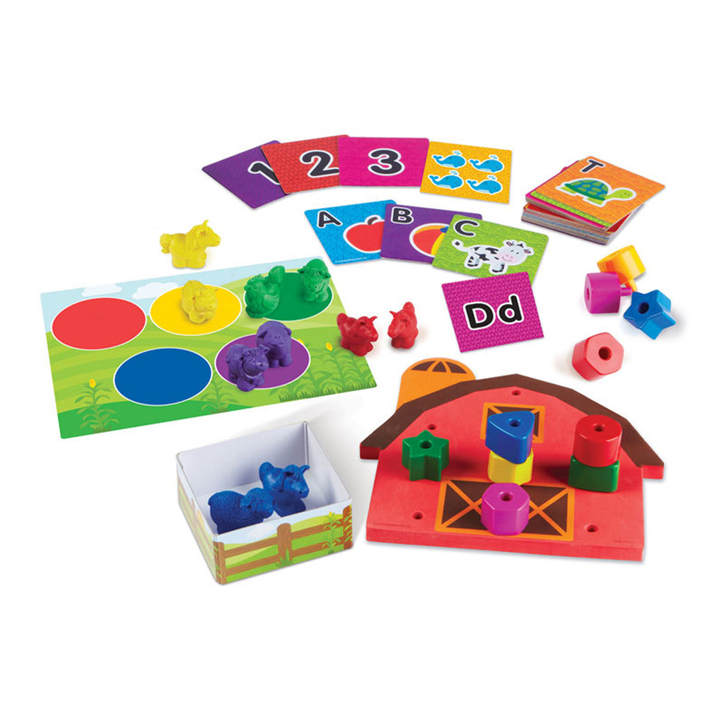 Learning Resources All Ready for Toddler Time Readiness Kit