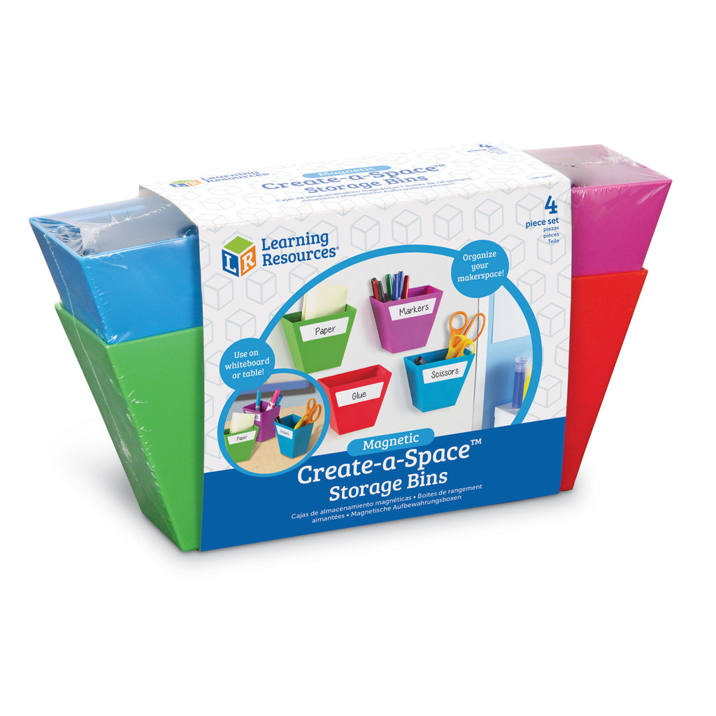Learning Resources Create-a-Space ™ Storage Bins