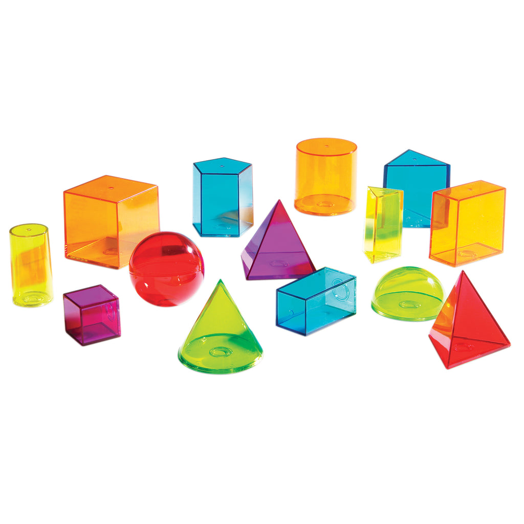 Learning Resources View-Thru® Geometric Solids