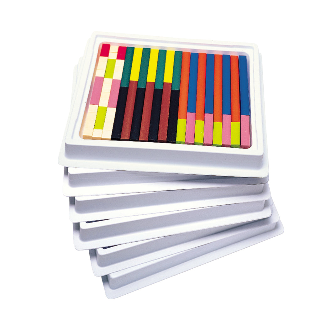 Learning Resources Cuisenaire® Rods Multi-Pack: Plastic