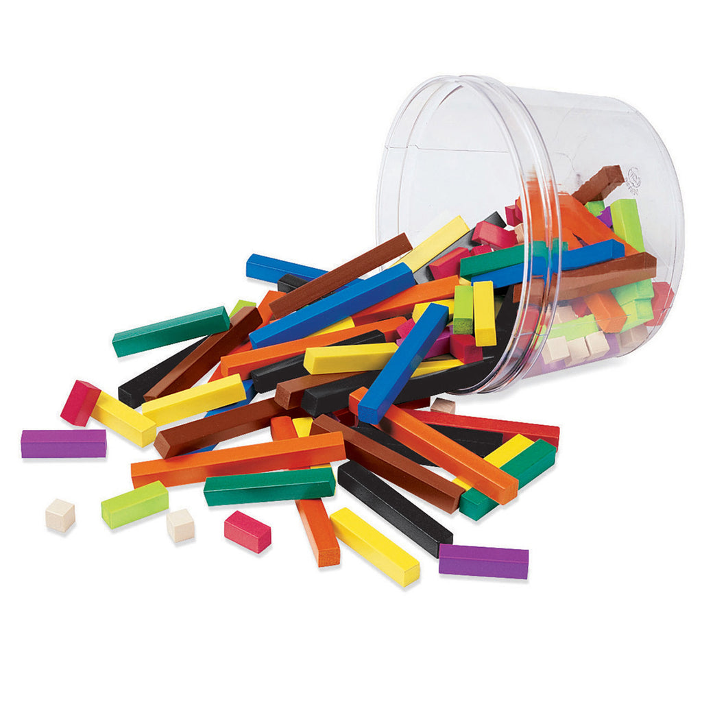 Learning Resources Cuisenaire® Rods Small Group Set: Plastic, Set of 155