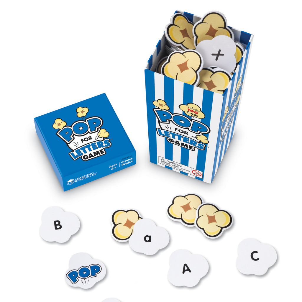 Learning Resources Pop for Letters™ Game