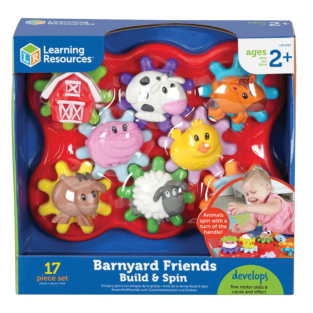 Learning Resources Build & Spin: Farm Friends